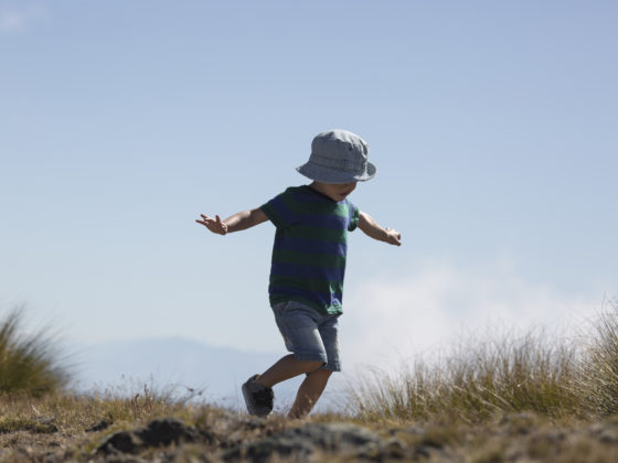It's kids play at Cardrona, playing in the wide open spaces
