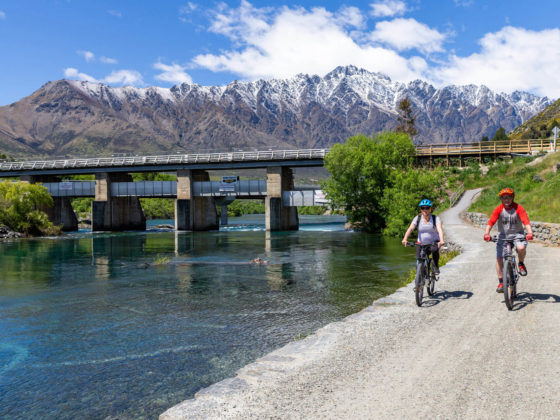 Kawarau Bridge Queenstown Trail riding