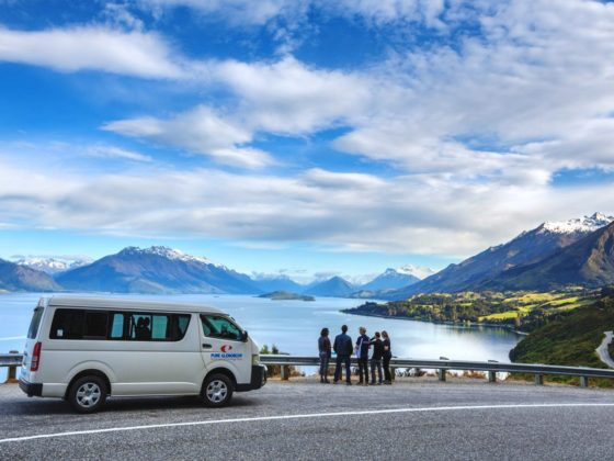Scenic sights along the Pure Glenorchy Tour